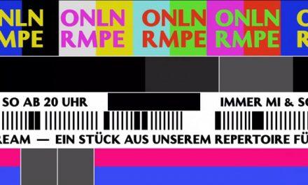 Theater RAMPE Live on Air und im Stream