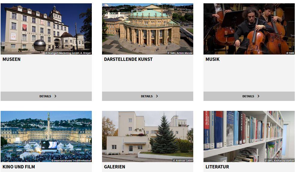 Virtuelle Kulturangebote in Stuttgart